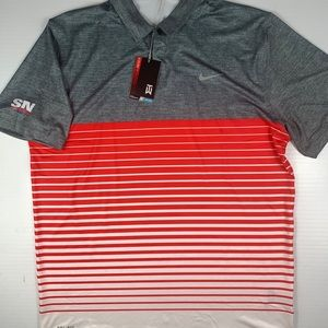 NIKE TIGER WOODS Collection Dri Fit Polo Size L